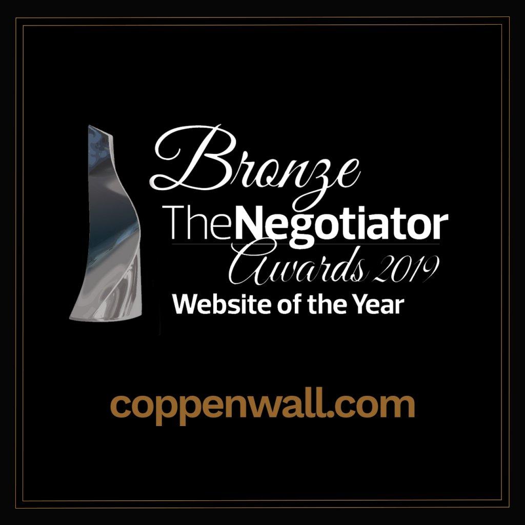 Bronze Award for Coppenwall Estate Agents.